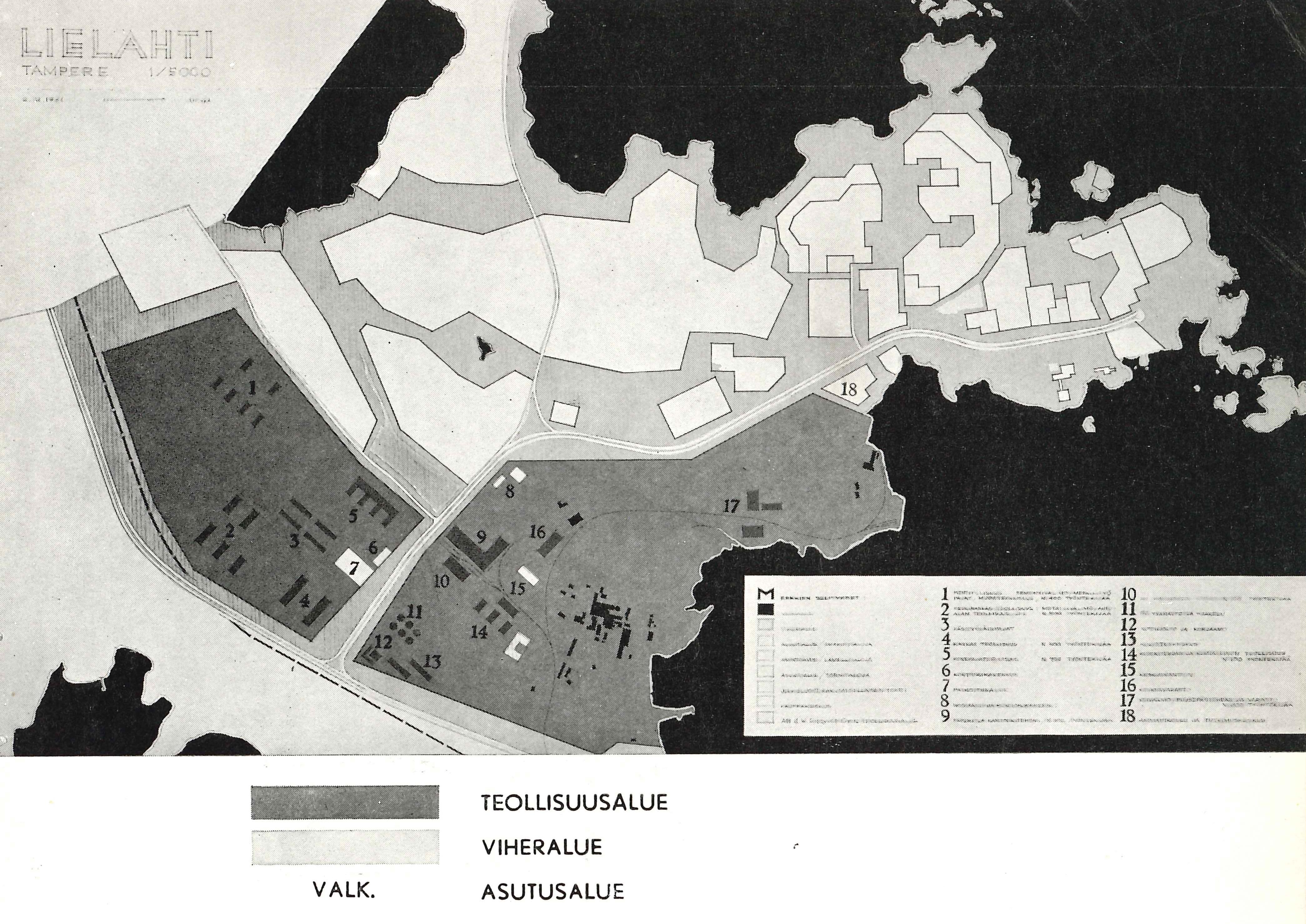 Ab J.W. Enqvist Oy:n vuosikertomus 1961.