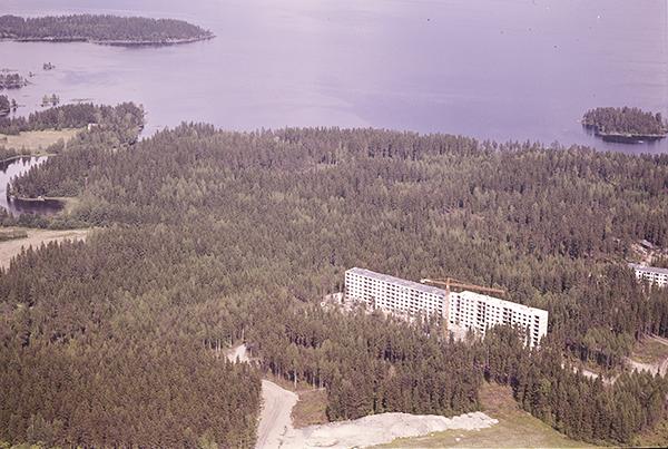 Lentävänniemi vuonna 1972. Kuva: Matti Selänne. Vapriikin kuva-arkisto.